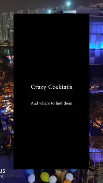 Sizzler Trails,India,Karnataka,Bengaluru,Bengaluru,undefined,Crazy Cocktails and where to find them,bangalore-sizzler-trails-34c182db6d63-0-of-4