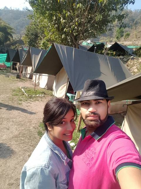 Camping in Rishikesh(Himalaya Nature Camp)