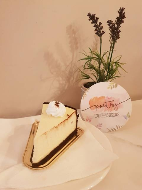 Poetry by Love and Cheesecake