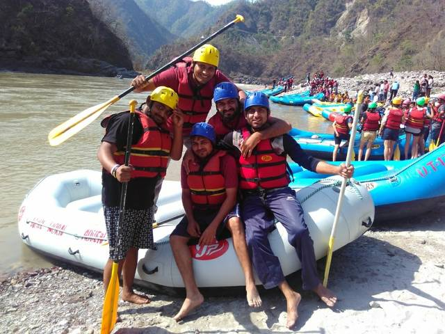 Shivpuri River Rafting Point