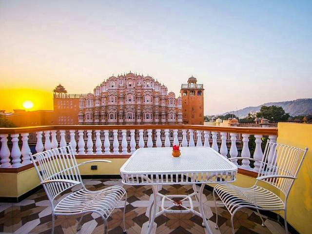 Wind View Cafe, Jaipur