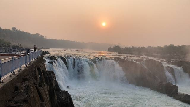 Bhedaghat Water Fall