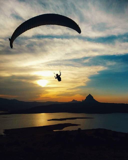 It just keeps getting better! The most surreal experience! - Paragliding at Kamshet.