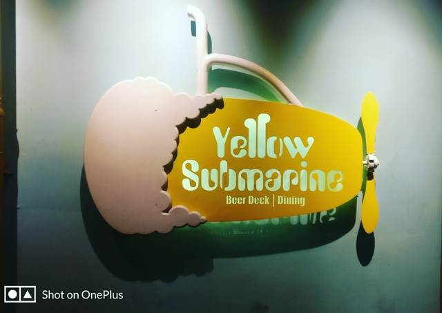 The Yellow Submarine Beer Deck & Dining